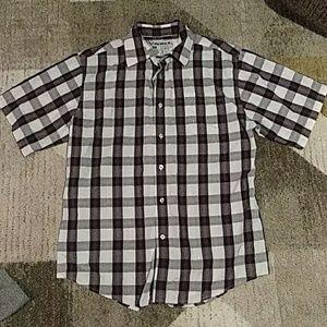 Avirex Mens Button Down Shirt Medium